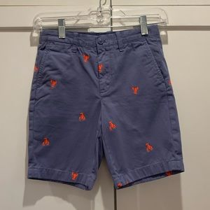 Very good condition, lobster, boys Crewcuts shorts